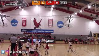 Montclair State Volleyball Highlights vs. WPU - 10/11/18