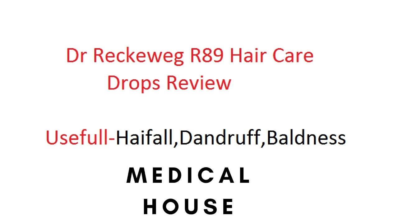 R89 - Dr Reckeweg R89 Homeopathy Review  Usefully for Dandruff- Buy  http://medicalhouse in/ by Divyanshu mehta