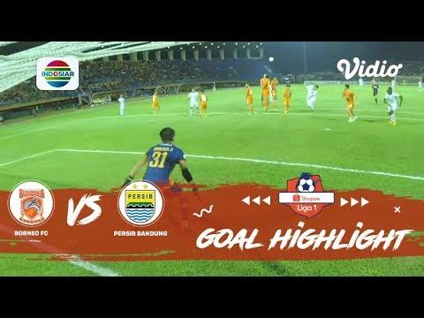 Borneo FC (0) vs (1) Persib Bandung – Goal Highlight   Shopee Liga 1