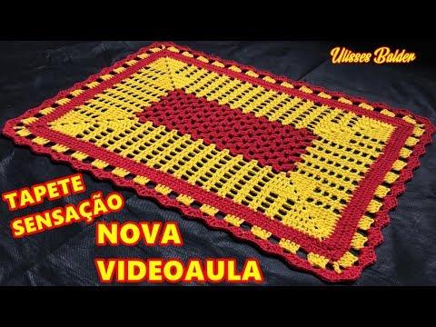 TAPETE SENSAÇÃO (VIDEOAULA MELHORADA!) #UlissesBalder