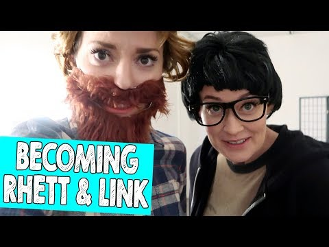 BECOMING RHETT & LINK // Grace Helbig