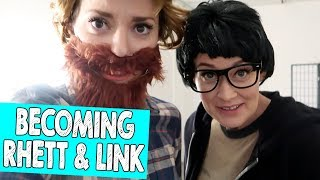 BECOMING RHETT & LINK // Grace Helbig