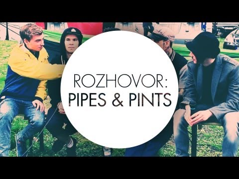 ROZHOVOR: PIPES & PINTS // CREATIVE BLOCK TV