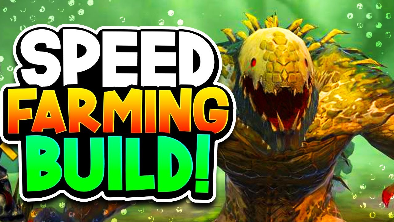 SAURUS BUILD for GODLIKE SPEED FARMING! (Uncommon Campaign Beast!)