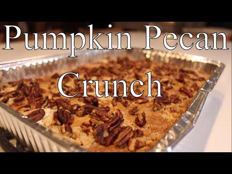 Pumpkin Butter Pecan Crunch Cake With Linda's Pantry