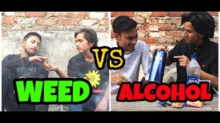 weed vs alcohol - spum