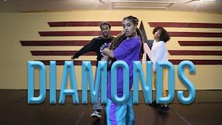MEGAN THEE STALLION & NORMANI - DIAMONDS | #theINstituteofDancers | Choreography Mariya Calhoun