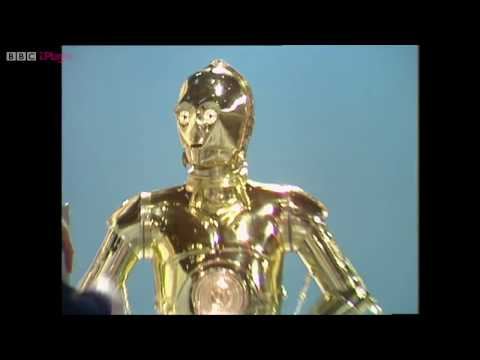 BBC Swap Shop 1981 featuring C3PO and Anthony Daniels.