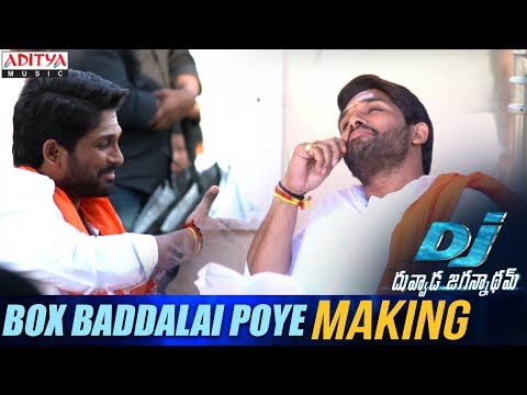 Box Baddalai Poye Song Making || DJ Song...