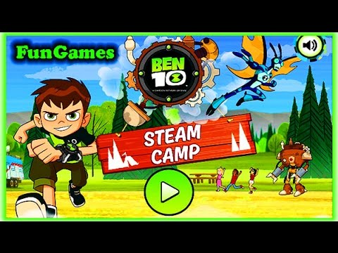 Ben10 Steam Camp | Cartoon Network Games
