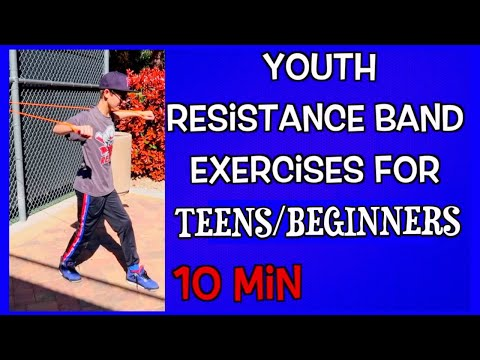 Resistance band workouts / Exercise for Kids/Teens & Athletes and Adults �� Ehersisyo ng Mga Bata