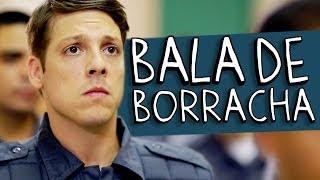 BALA DE BORRACHA