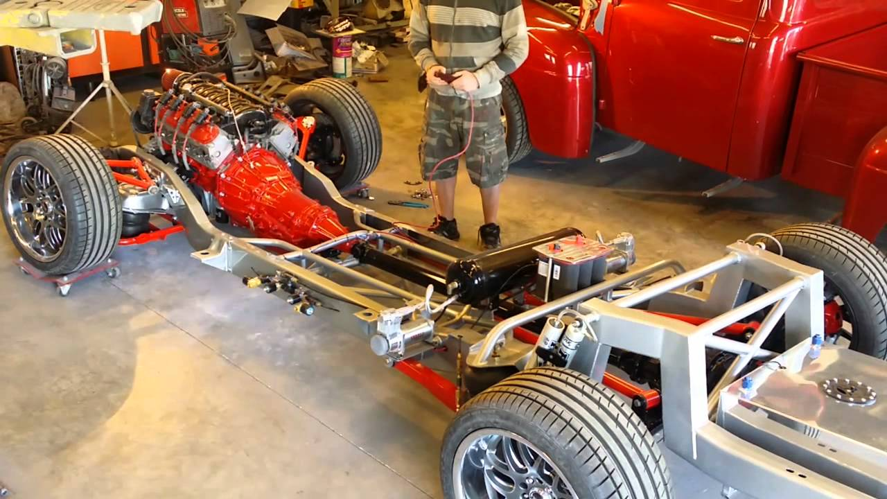 hight resolution of c10 custom build with air bag suspension demo