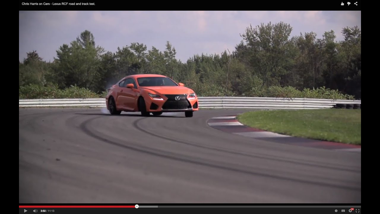 Chris Harris on Cars Lexus RCF road and track test