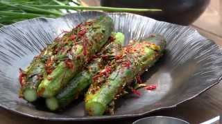 How to make Korean Cucumber Kimchi