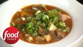 Rachael's Spicy BBQ Roasted Turkey Gumbo | Food Network