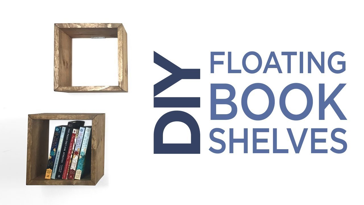 Simple Floating Box Shelves From e 1 X 8