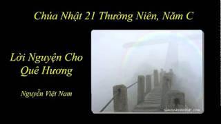 Lời Nguyện Cho Quê Hương - Nguyễn Việt Nam