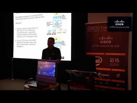 """Cisco Forum 2013: """"Wdrażanie i migracja telefonii IP do protokołu SIP"""" Marek Musiał (Cisco)"""