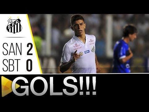 Santos 2 x 0 São Bento | GOLS | Paulistão (16/04/16)