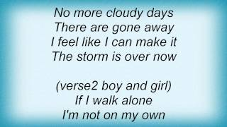 Kirk Franklin - The Storm Is Over Now Lyrics