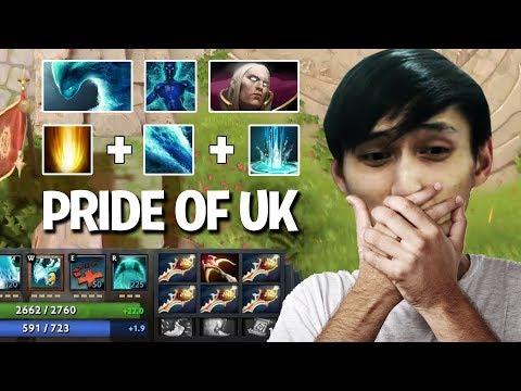 MORPHLING & INVOKER COMBO BY THE PRIDE OF UK (SingSing Dota 2 Highlights #1185)