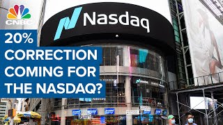 20% correction coming for the Nasdaq?