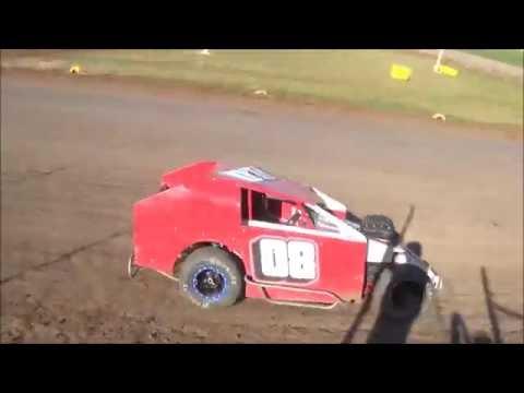 Salina Speedway Auto House Towing Mod Lites 9 18 16
