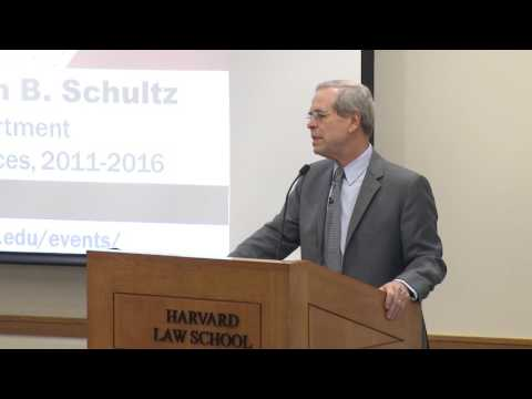 "William B. Schultz: ""The Affordable Care Act: Past, Present, and Future"""