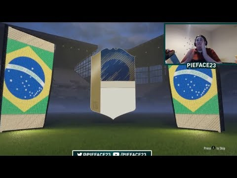 FINALLY A BRAZILIAN ICON!!! MORE GUARANTEED ICON PACKS - FIFA 18