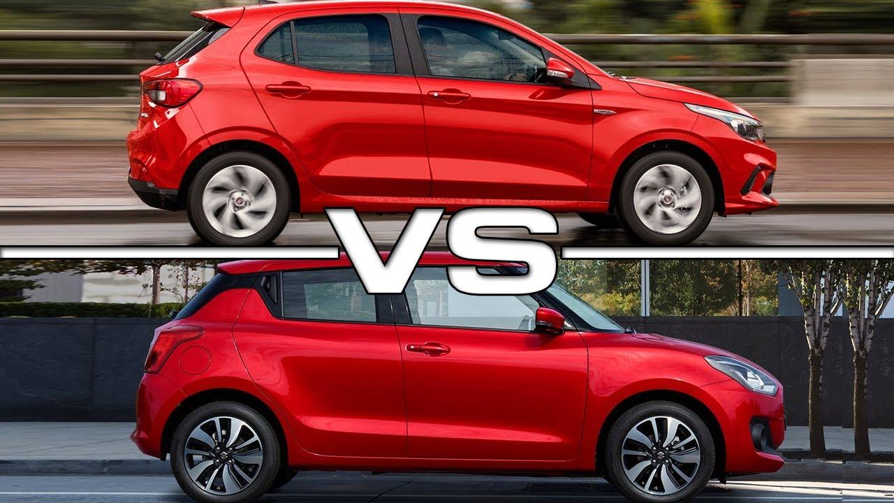 2018 Fiat Argo vs 2017 Suzuki Swift - YouTube
