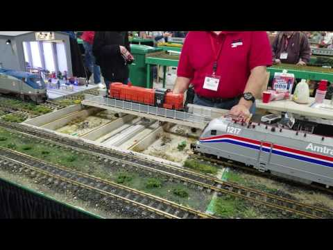 New Hampshire Garden Railway Society at Springfield Transfer Table in 4k
