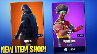 OLD SKINS OMEN AND FUNK OPS IS HERE / FORTNITE LIVE STREAM / SUBSCRIBE