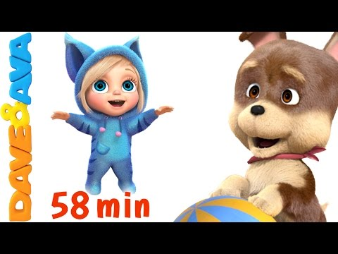 🏈 Action Songs for Kids | Kids Songs | Nursery Rhymes and Action Songs from Dave and Ava 🏈
