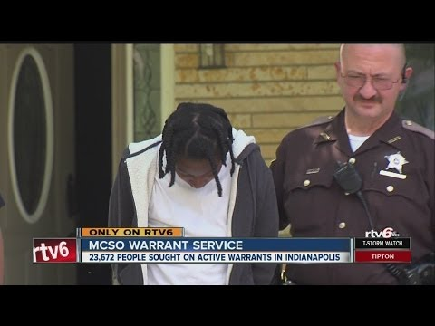 Marion County Sheriff's Office Deputies Crackdown On Wanted Criminals