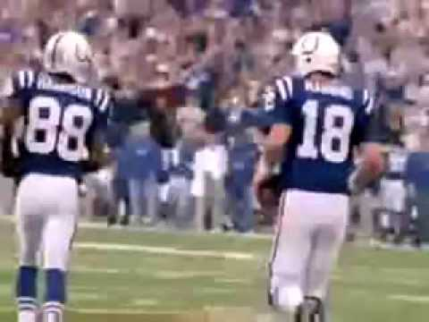 Peyton Manning and Marvin Harrison #1 passing combination