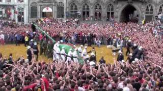 Doudou Mons 2015 - Ducasse de Mons 2015 - Le Combat