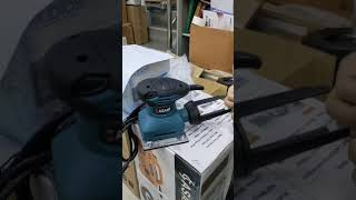 AS4511 電動砂紙機 集塵袋安裝方式