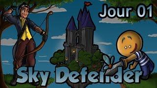 Minecraft - Sky Defender II : Jour 1