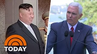 Mike Pence Warns North Korea 'All Options On The Table' Mid-Nuclear Test Fears | TODAY