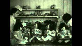 """The Dionne Quintuplets in """"A Day At Home"""""""