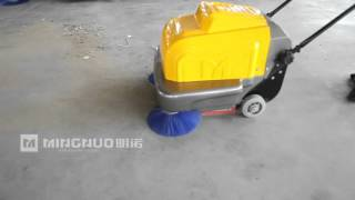 P100A Sweeper in action