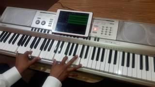 Te Seguire Yashira Guidini tutorial en piano facil