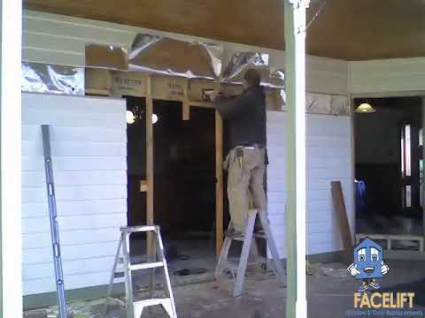 Amazing Double Timber Doors Cut Into Weatherboard - Melbourne - YouTube & Amazing Double Timber Doors Cut Into Weatherboard - Melbourne ... Pezcame.Com