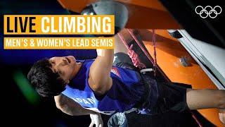 LIVE Lead Climbing Semi-Finals! 🧗   2021 IFSC World Champs