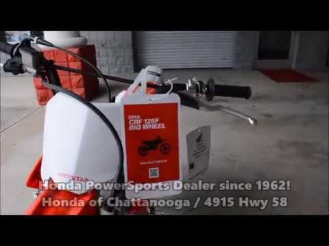 2015 CRF125F Big Wheel For Sale / Kids Dirt Bikes - Chattanooga TN Honda Dealer