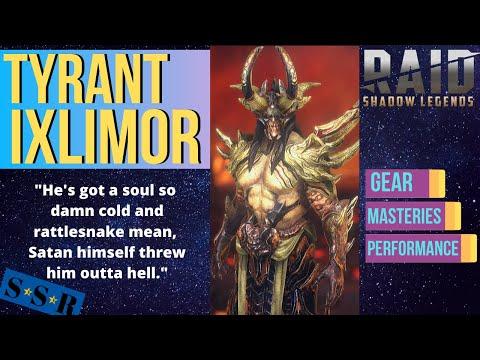 Tyrant Ixlimor, Immovable Object   Raid: Shadow Legends   Champion Guide