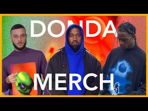KANYE WEST DONDA UPDATE + NEW MERCH COMING SOON