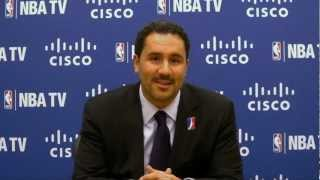 Dan reed, nba d-league president, is interviewed by nba tv about the start of the 2012-13 season