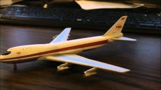 [HD] Gemini Jets TWA Boeing 747-100 Unboxing and Review